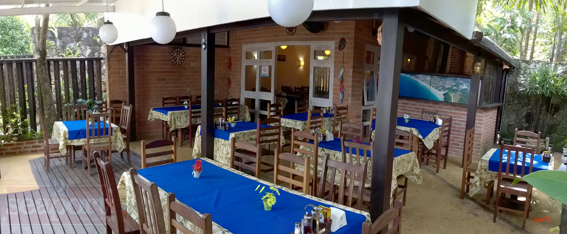 Restaurante do condomínio